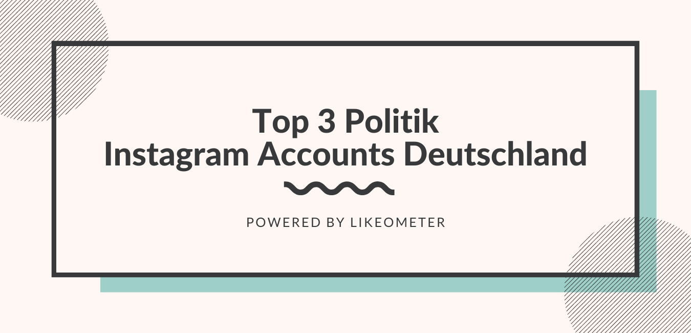 Top 3 Instagram Accounts Politik